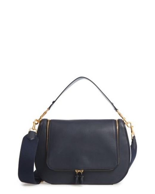 Anya Hindmarch | Blue Vere Maxi Leather Satchel | Lyst