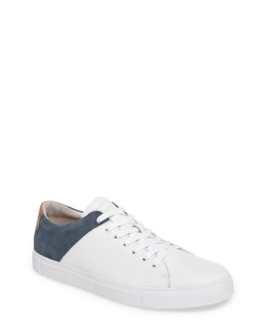 Blackstone | White Nm03 Two-tone Sneaker for Men | Lyst