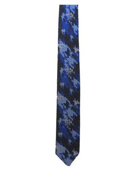 Hook + Albert | Blue Knit Silk Tie for Men | Lyst