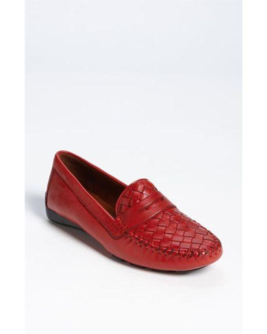 Robert Zur | Red 'petra' Driving Shoe | Lyst