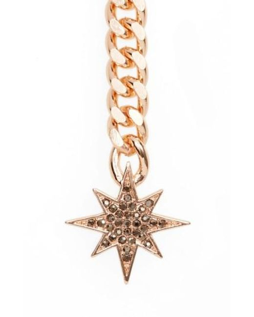 Rebecca Minkoff | Metallic Stargazing Y-necklace | Lyst