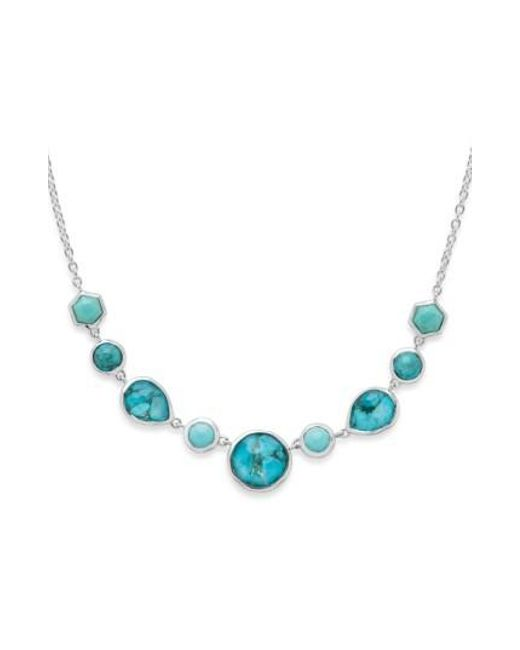 Ippolita   Blue Rock Candy Frontal Necklace   Lyst