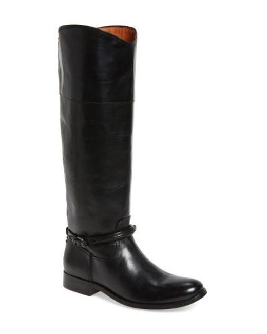Frye - Black Melissa Seam Boot - Lyst