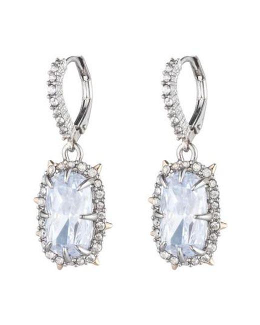 Alexis Bittar   Metallic Swarovski Crystal Drop Earrings   Lyst