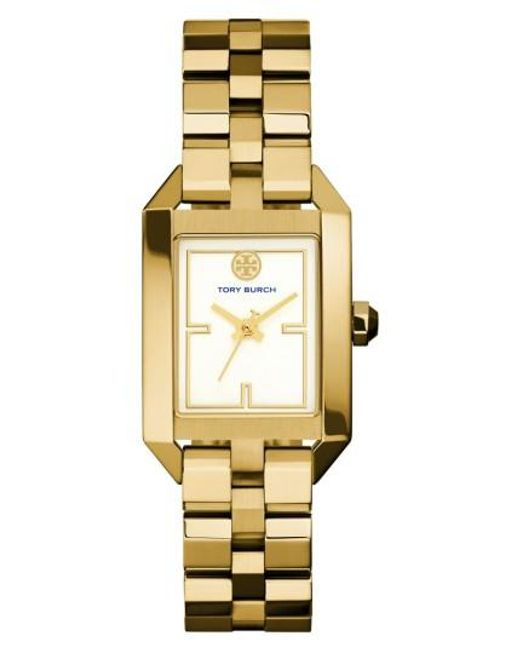 Tory Burch | Metallic 'dalloway' Bracelet Watch | Lyst