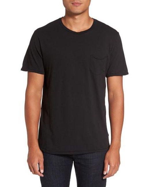 Joe's   Black Chase Classic Crewneck T-shirt for Men   Lyst