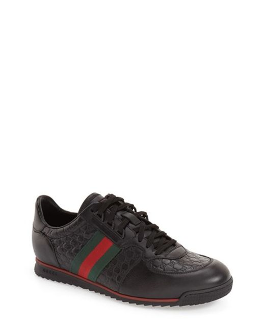 Gucci | Black Sl 73 Sneaker for Men | Lyst