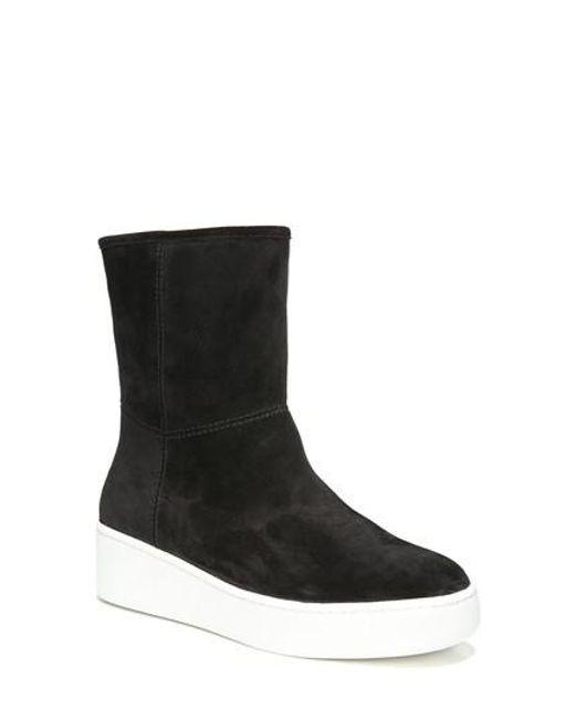 Via Spiga | Black Elona Sneaker Boot | Lyst