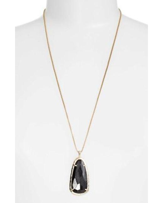 Kendra Scott   Metallic Saylor Pendant Necklace   Lyst
