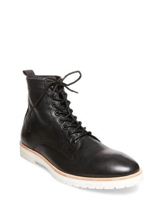 Steve Madden   Black X Gq Andre Plain Toe Boot for Men   Lyst