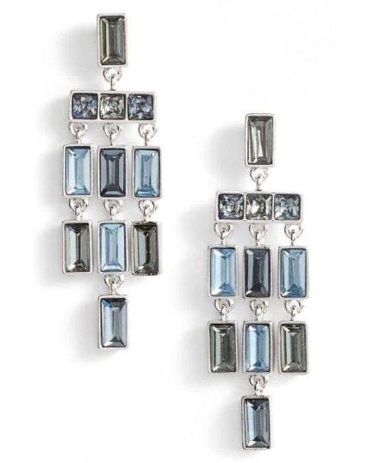 Vince Camuto   Metallic Chandelier Earrings   Lyst