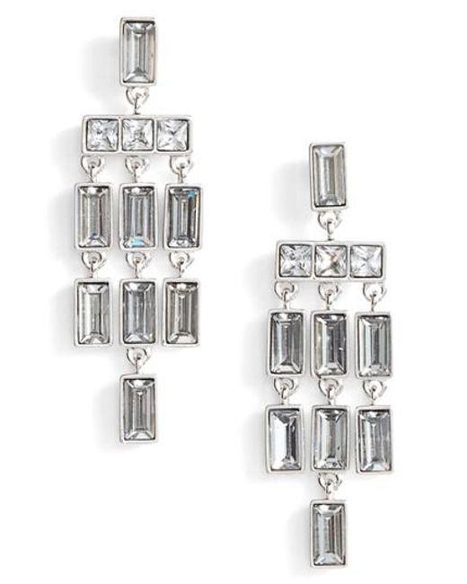 Vince Camuto | Metallic Chandelier Earrings | Lyst