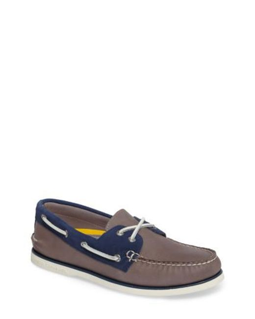 Sperry Top-Sider | Blue Gold Cup Authentic Original Boat Shoe for Men | Lyst