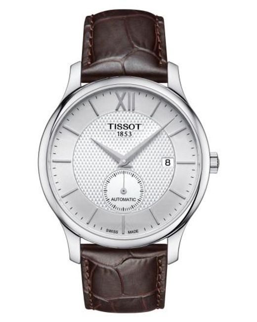 Tissot | Metallic Tradition Automatic Embossed Leather Strap Watch for Men | Lyst