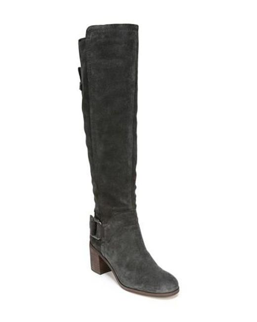 Sarto | Black Mystic Knee High Boot | Lyst