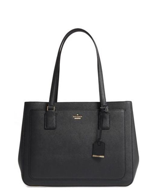Kate Spade | Black Cameron Street - Zooey Leather Tote | Lyst