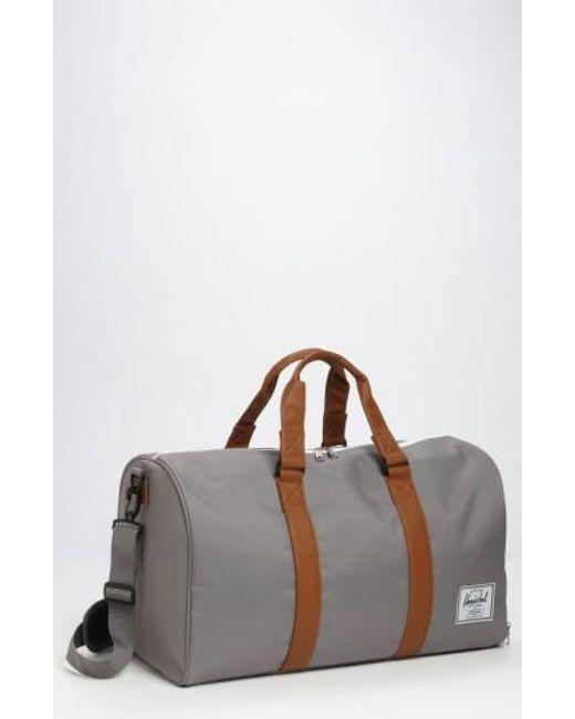 Herschel Supply Co. | Gray 'novel' Duffel Bag for Men | Lyst