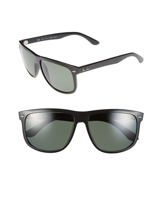 Ray-Ban | 'boyfriend' 60mm Polarized Sunglasses - Light Havana/ Brown P for Men | Lyst