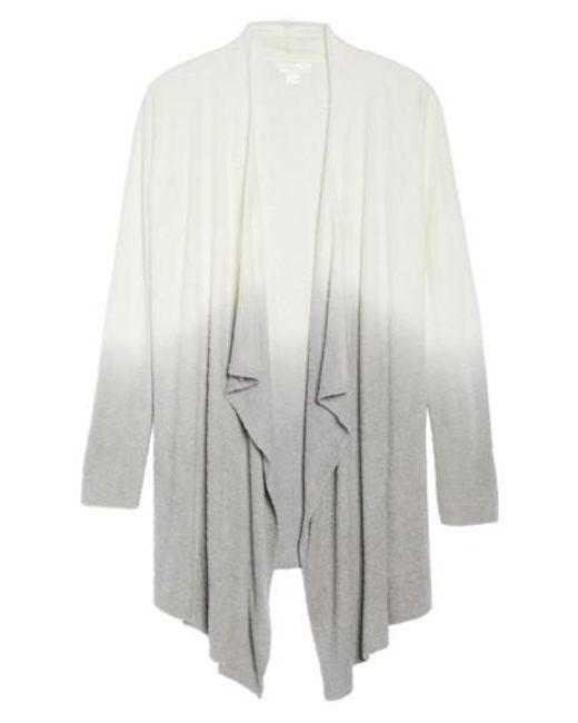 Barefoot Dreams | White Barefoot Dreams Cozychic Lite Calypso Wrap Cardigan | Lyst