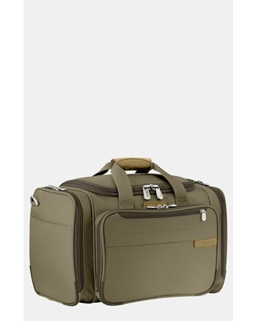 Briggs & Riley | Green 'baseline - Deluxe' Duffel Bag for Men | Lyst