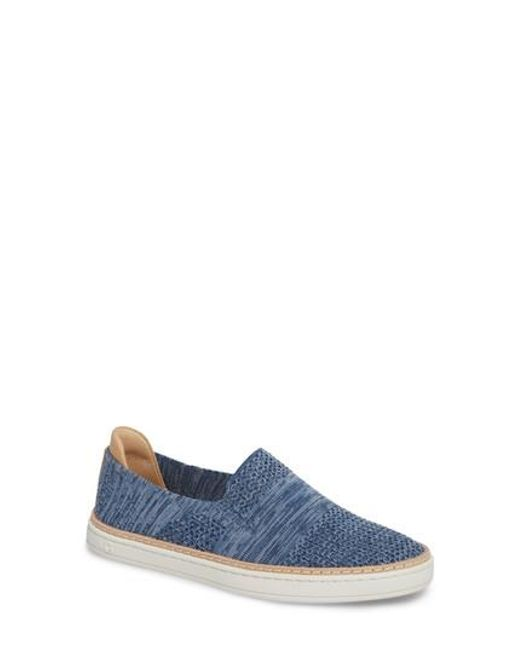 Ugg - Blue Ugg Sammy Sneaker for Men - Lyst