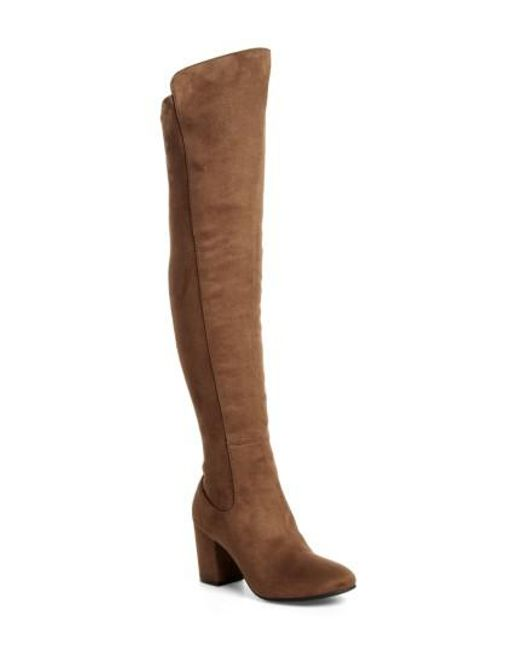 Treasure & Bond | Multicolor Stretch Over The Knee Boot | Lyst