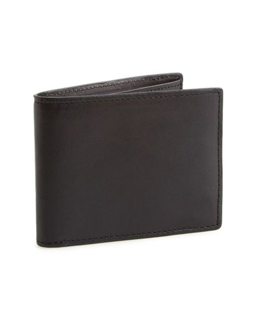 Rag & Bone | Black Hampshire Leather Bifold Wallet for Men | Lyst