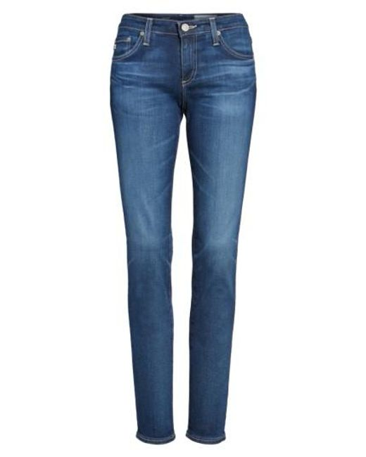 AG Jeans | Blue 'the Stilt' Cigarette Leg Jeans | Lyst
