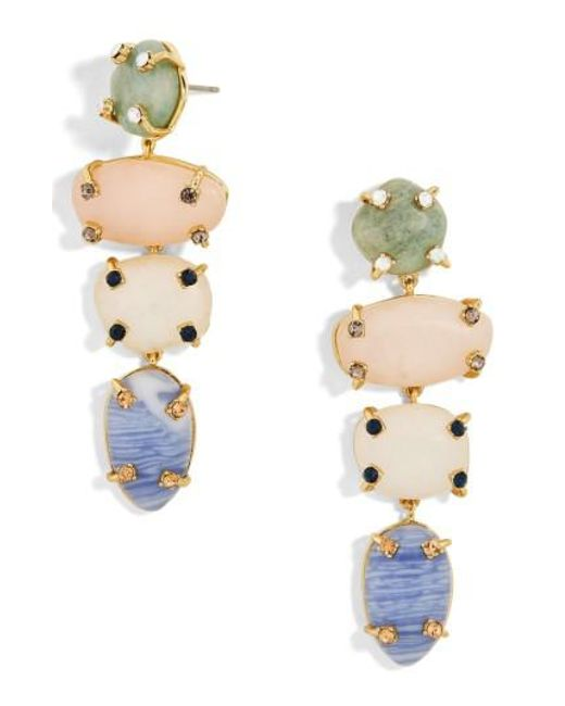 BaubleBar   Multicolor Devina Drop Earrings   Lyst