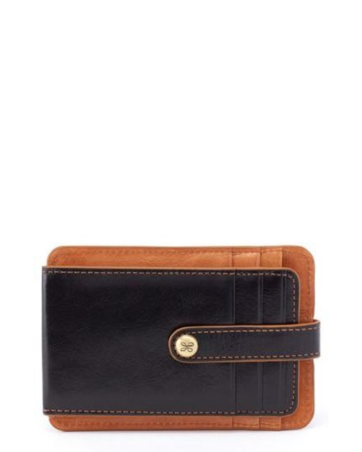 Hobo - Black Access Bifold Leather Card Case - Lyst