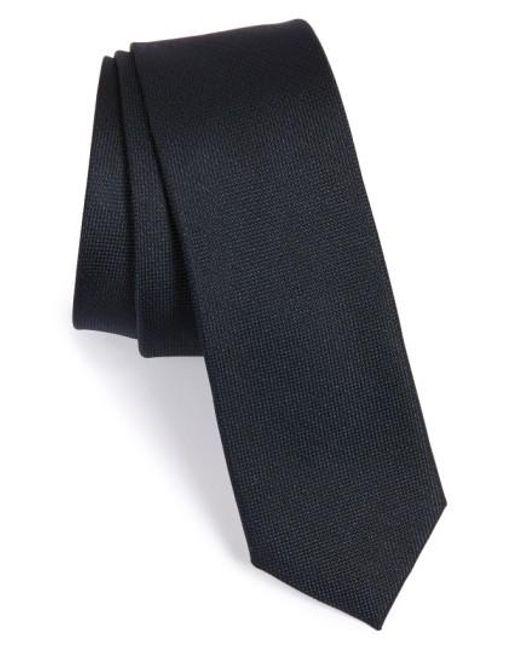 Calibrate   Blue Woven Silk Tie for Men   Lyst