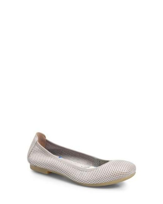 BRN Women's B?rn Julianne Perforated Flat