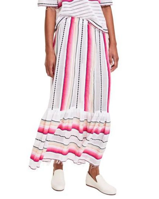 Lemlem | Pink Adia Convertible Cover-up Skirt | Lyst