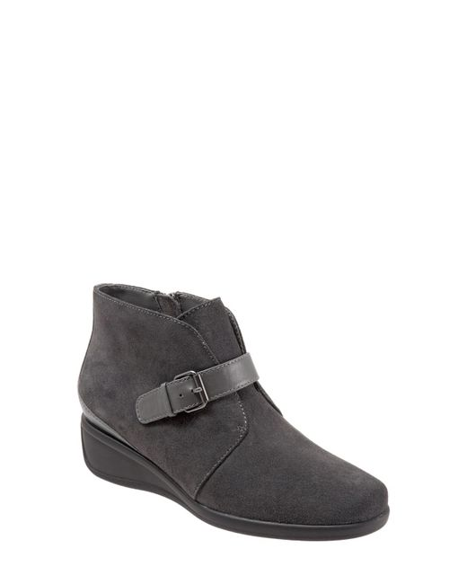 Trotters - Gray 'Mindy' Wedge Boot - Lyst