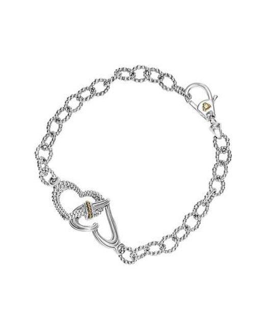 Lagos - Metallic Beloved Link Bracelet - Lyst