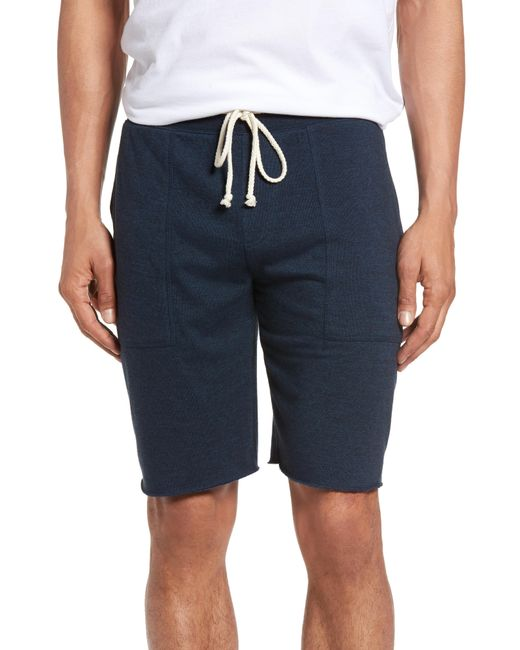 Nordstrom - Blue 1901 Fleece Shorts for Men - Lyst