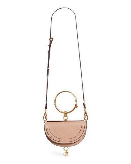 Chloé - Multicolor Small Nile Bracelet Calfskin Leather Minaudiere - Lyst
