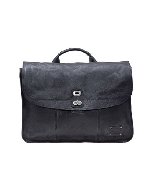 Will Leather Goods | Black 'kent' Messenger Bag for Men | Lyst