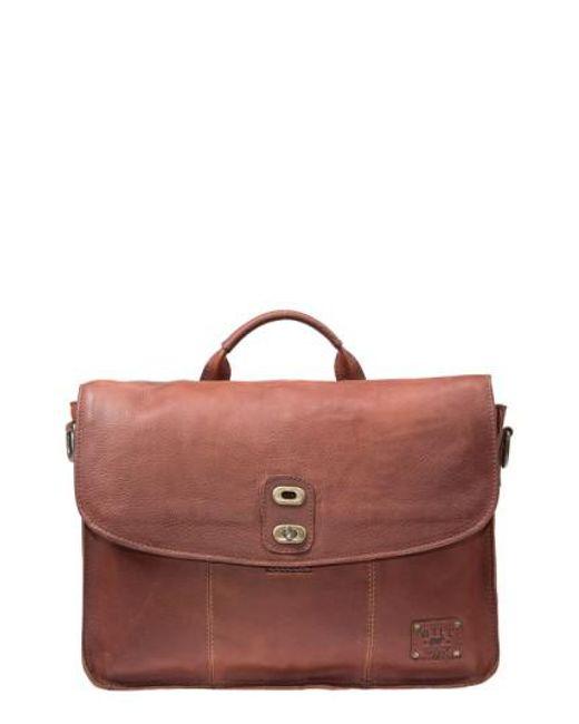 Will Leather Goods   Brown 'kent' Messenger Bag for Men   Lyst