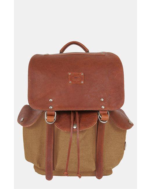 Will Leather Goods | Brown 'lennon' Backpack for Men | Lyst