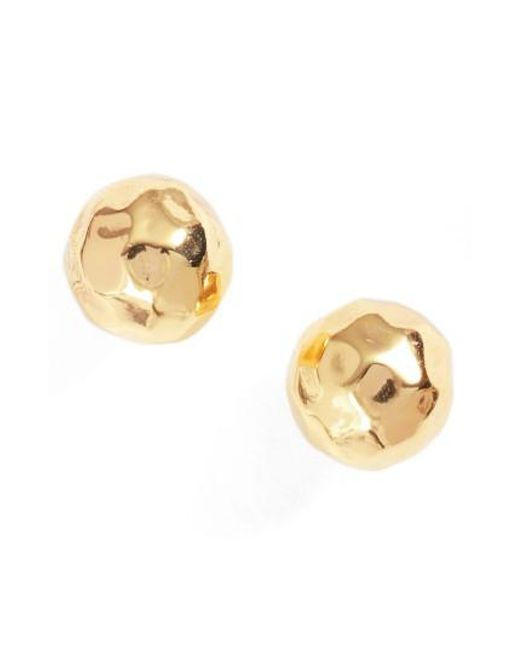 Gorjana - Metallic Leucadia Stud Earrings - Lyst
