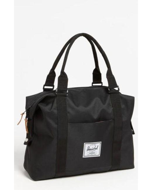 Herschel Supply Co.   Black 'strand' Duffel Bag for Men   Lyst