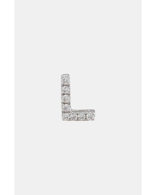Bony Levy - Metallic Single Initial Earring (nordstrom Exclusive) - Lyst
