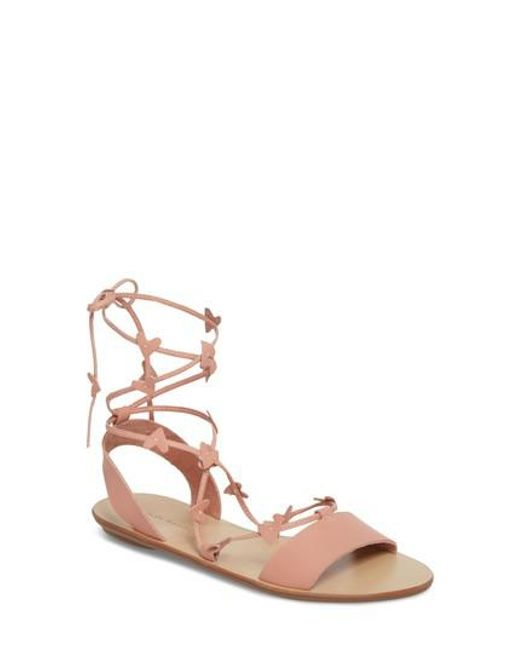 Loeffler Randall - Multicolor Heartla Wraparound Sandal - Lyst