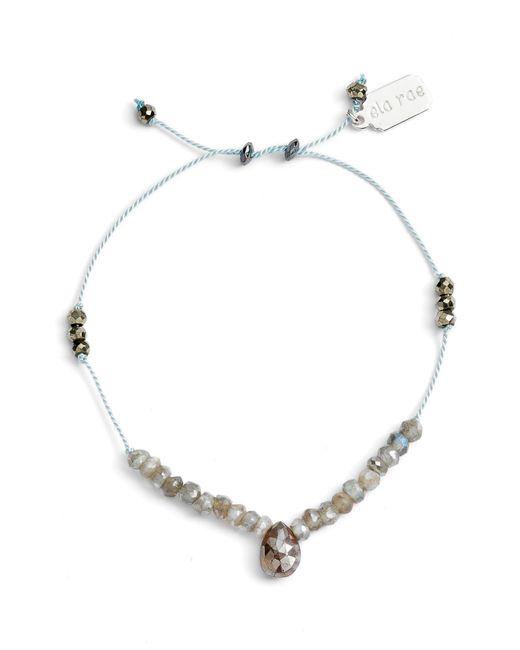Ela Rae - Multicolor Sylvie Semiprecious Stone Bracelet - Lyst