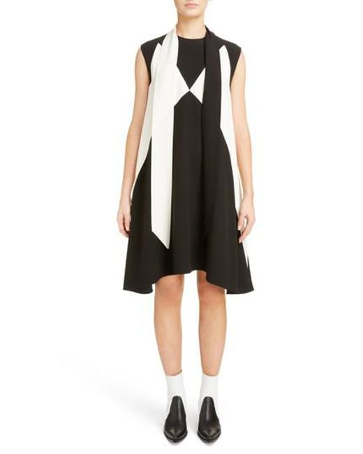 For Sale Cheap Online Store Sale scarf collar dress - Black Givenchy NVouUH1e