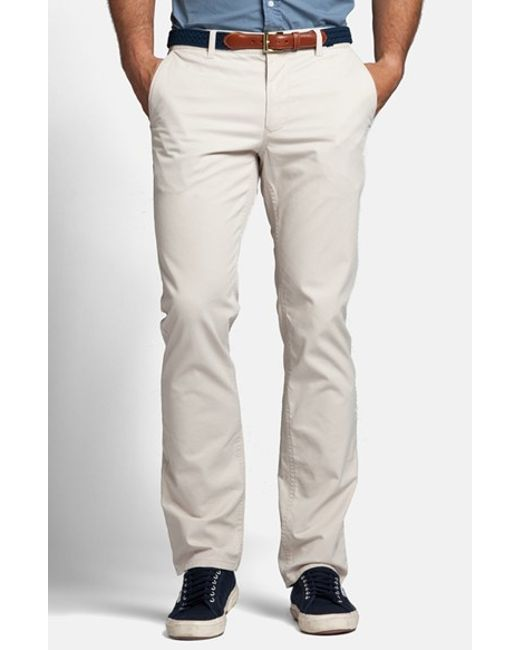 Bonobos | Gray Slim Fit Washed Chinos for Men | Lyst