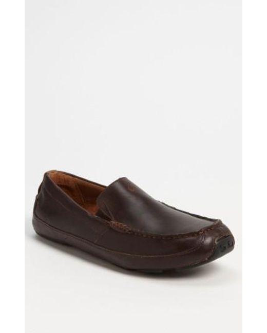 Olukai | Brown 'akepa' Driving Shoe for Men | Lyst