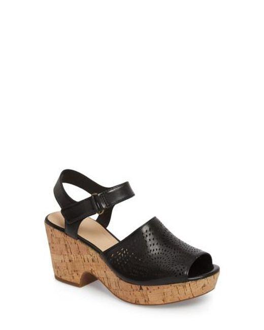 Clarks - Black Clarks Maritsa Nila Platform Sandal - Lyst
