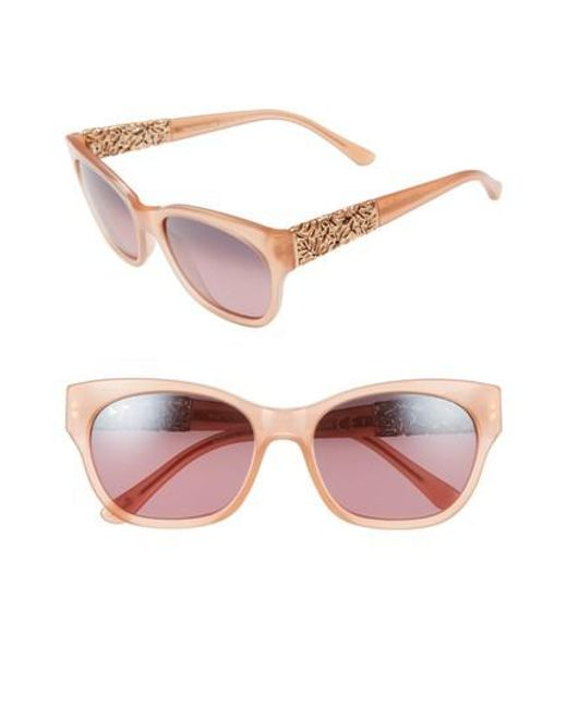 Maui Jim Honey Girl Sonnenbrille Blush Pink Blush Pink Polarisiert 51mm QuONpn